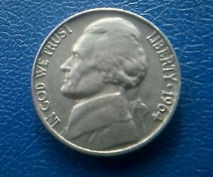 United States five cents 1964 NicKels.