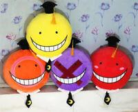 Assassination Classroom Korosensei Stuffed Doll Soft Throw Pillow Plush Toy Gift