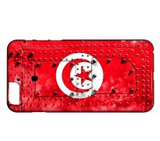 Coque iPhone 6 Plus & 6S Plus Drapeau TUNISIE 06