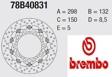 Coppia Dischi Freno BREMBO Serie Oro  Yamaha 600 YZF R6 03 > 04