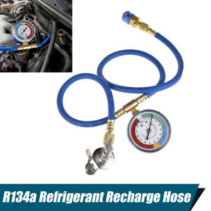 1x R134a Refrigerant Recharge Hose Fluoridation Pipe For R-12 R-22 Bottle Opener