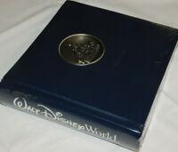 Walt Disney World Castle Medallion Memories Photo Album Scrapbook W/Pen SEALED