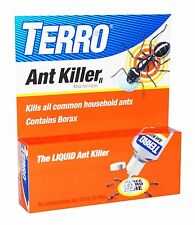 TERRO Liquid ANT KILLER Elimination of the Queen & Entire Colony IT WORKS 2 oz