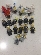 Lego Minifigures motorbikes, police , criminals and others