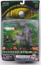 1998 Trendmasters Shatter Blast Godzilla vs Rocket Launcher figure set
