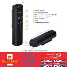 Jack 3.5 mm sans fil Bluetooth Récepteur Adaptateur Audio Voiture AUX écouteurs haut-parleur