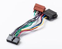 Kompatibel mit Clatronic ISO DIN Auto Radio Adapter Kabel Stecker Radioadapter