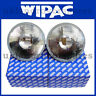 7 Inch Quadoptic Headlamps, With Pilot. Halogen Headlights Pair. WIPAC