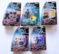 Star Trek Warp Factor  Series Action Figures *Choose From 5 figures* 1997 MOC