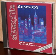 STEREOPHILE CD STPH010-2: HYPERION KNIGHT - Rhapsody: Works by Gershwin, 1997 US