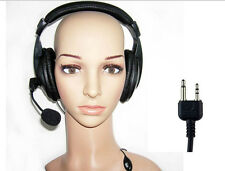 HEADSET WITH PTT FOR MIDLAND AND INTEK  NOICE CANCELLING