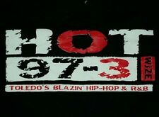 Toledo Urban Rap Blazin Hip Hop Radio Station HOT 97.3 wjze BLACK SWEATSHIRT med