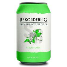 Rekorderlig Hyldeblomst / Holunderblüte Premium Cider 4,5% vol 24 x 33cl Tray