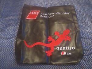 Audi Sport Alemania Equipo Goh Quattro S LINE QUATTRO-S Race Miembro Bolsa Raro