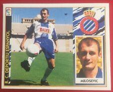 MILOSEVIC FICHAJE 4 BIS RCD ESPANYOL ESTE 97-98, 1997-98, 1997-1998.