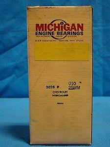 1966 - 73 Isuzu 1.3L 1.5L 1.6L 1.8L Bellett Wasp Main Bearing Set 4 Cyl 010