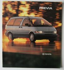 TOYOTA PREVIA 1991 brochure - English - Canada - HS2003000718
