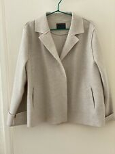OSKA 100% Boiled Wool Moessmer Jacket In Off White, Size3, Excellent Condition.
