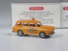 Klasse: Wiking Serienmodell VW 1600 Variant Kanal Notdienst Roth in OVP