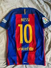 Messi Barcelona Football Shirt Jersey maglia maillot Liga (M)