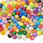 20pcs/lot Funny Toy Balls Mixed Bouncy Balls Solid Bouncing Child Elastic Rubber