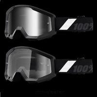 100 % Prozent Goliath Strata schwarz Brille Motocross Enduro Downhill Cross BMX