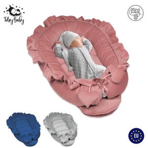 Nestchen Baby Kokon Babynest Babynestchen Babykokon Nest Kuschelnest Velvet