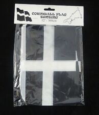 CORNWALL CORNISH KERNOW FLAG BUNTING PERFECT FOR ST PIRAN'S DAY