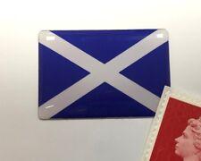 Scottish Saltire Flag Sticker Super Shiny Domed Finish 30mm Scotland