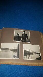 2 Weltkrieg Fotoalbum: Schifffahrt, 177 Fotos, Rarität!