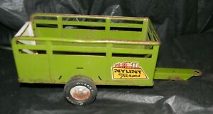Nylint Farms Green Stock Trailer with Hitch