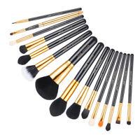 Jessup Makeup Brushes Set Powder Foundation Eyeshadow Eyeliner Lip Brush Tool