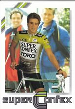 CYCLISME carte cycliste TOINE POELS équipe SUPER CONFEX