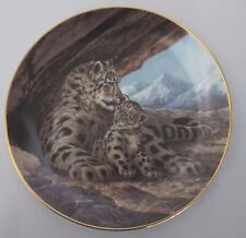 The Snow Leopard Plate Will Nelson Last of Their Kind Endangered Species Plate
