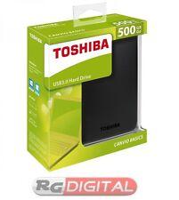 "HARDISK HARD DISK HDD ESTERNO 500GB 2,5"" AUTOALIMENTATO HDX HD TOSHIBA 3.0 & 2.0"