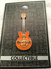 Hard Rock Cafe SAN FRANCISCO 2017 Orange 3D Core Guitar Pin #92793