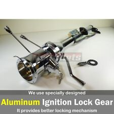 "Chrome 30"" Tilt Steering Column Shift W/ Ignition Key Auto GM Chevy StreetHotRod"