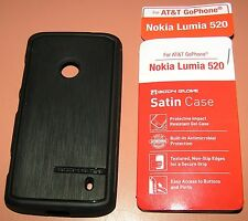 Body Glove Satin Gel Case for AT&T GoPhone-Nokia Lumia 520, One piece slip on