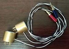 2pcs EL84 6BQ5 6P14 Bias Current Probes Tester Tool Vacuum Tube Amp Suzier T13