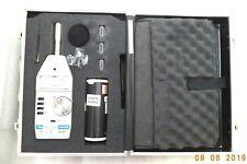 Vintage Simpson Sound Level Meter w/MSHA Calibrator and Case, Model 886-2