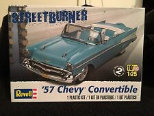 Revell '57 Chevy Convertible Model Kit Partially Built