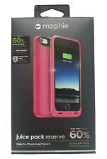 Mophie iPhone 6S / 6 Juice Pack Reserve Charging Case Cover - Pink
