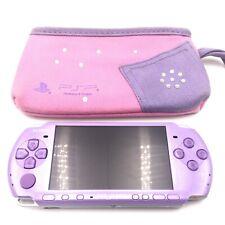 Sony PSP 3000 (3004) Hannah Montana Limited Edition Lilac Purple Handheld