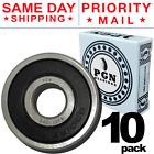 6301-2RS C3 EMQ Premium Rubber Sealed Ball Bearing, 12x37x12, 6301RS (10 QTY)