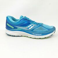 Saucony Womens Guide 10 S10350 Light Blue Running Shoes Lace Up Low Top Size 8