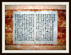 OLD-CHINESE HANDWRITING, CURIOSITY,JOSEON-DYNASTY, RICE PAPER, 500 YEARS OLD !!!
