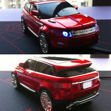 3D 1600DPI Land Rover Range Evoque Car Style Usb Optical Gaming Mouse Mice UK