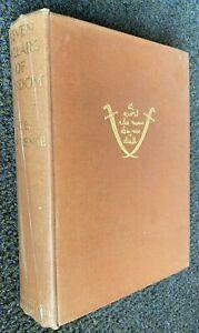 1935 1st ed / 4th imp THE SEVEN PILLARS OF WISDOM T E Lawrence 50 PLATES 4 MAPS