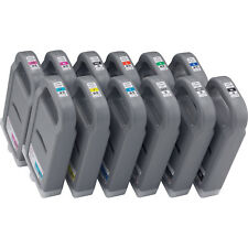 12 x Original Tinte Canon iPF8000 iPF9000 / PFI-701 700ml INK Cartridges Set