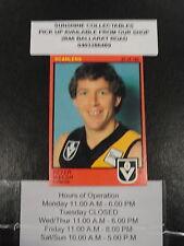 1982 SCANLENS CARD NO.25 PETER WELSH RICHMOND GOOD